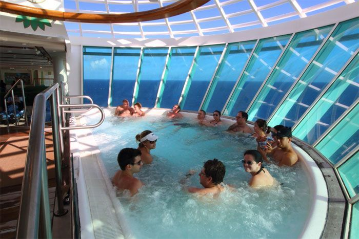 Jacuzzis Freedom of the Seas